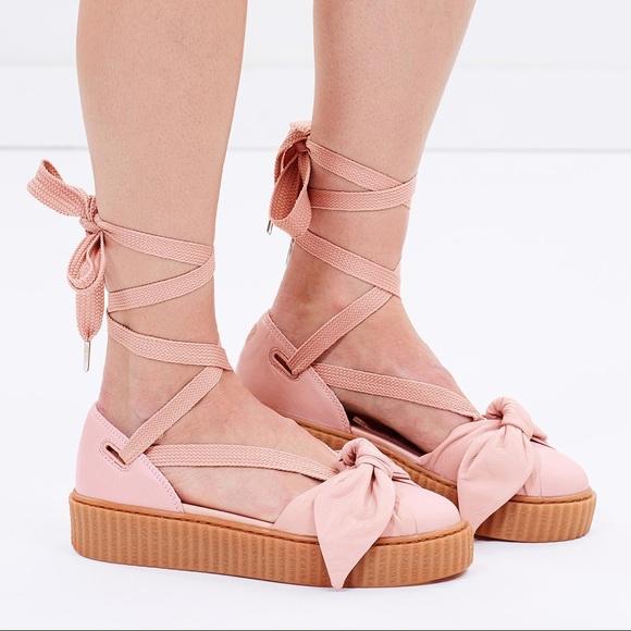 1a18ddcc0c0d FENTY by Rihanna Puma Bow Creeper Sandals